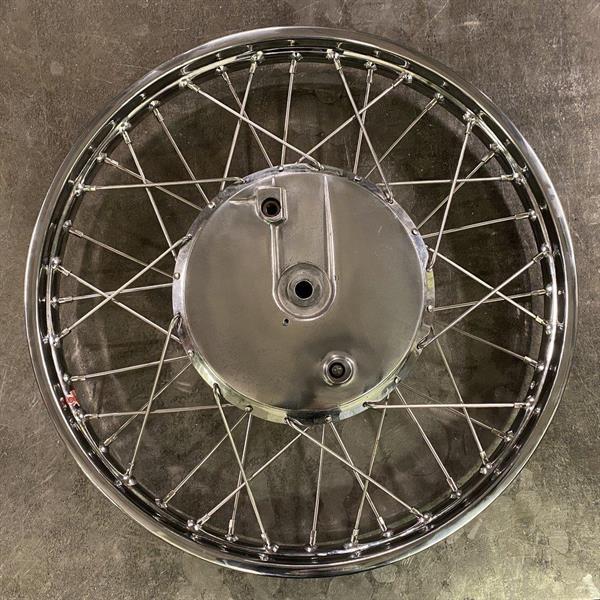 """1.60-21"""" WM1 40H CHROMED STEEL RIM K-MODEL"""