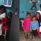 Rozinah och delar av hennes familj