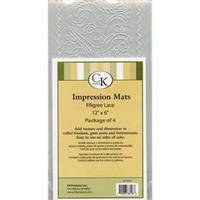 CK Filigree Lace mat 4 stk