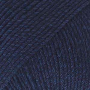 Cotton Merino Marineblå