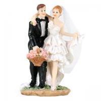 Brudepar Dansende, 11,5 cm