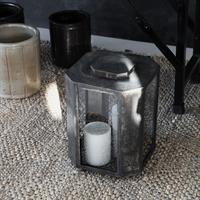 House Doctor Lantern Baazi, Antique Brown