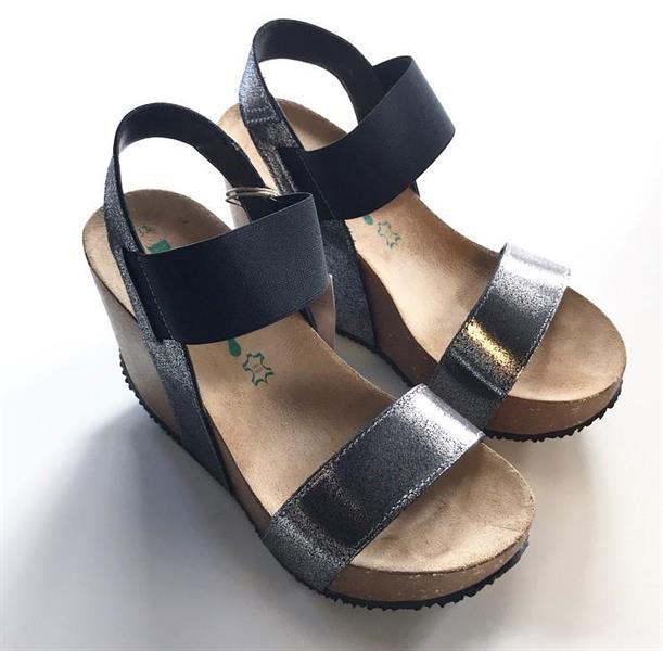 Bionatura Kiilakorko sandaali, Musta
