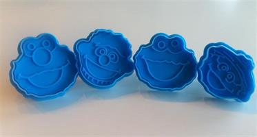 Utstikkersett Elmo Cookies
