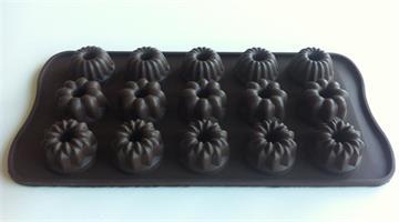 Silikonform sjokoladefigurer 8