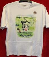 T-shirt Baksving M vit