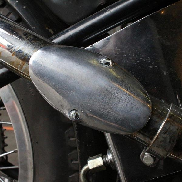 SMOOTH BOOT GUARD EXHAUST HEAT SHIELD
