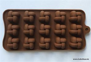 Silikonform sjokoladefigurer 17