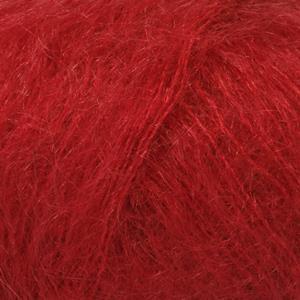 Kid-Silk Rød