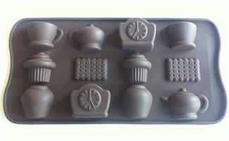 Silikonform sjokoladefigurer 3