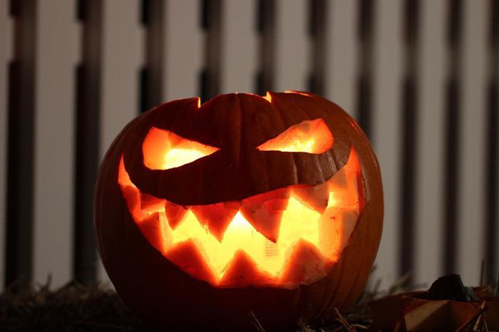 Halloween-frigåing