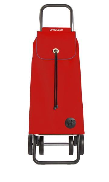 Shoppingvagn Rolser 2+2 Logic MF rojo