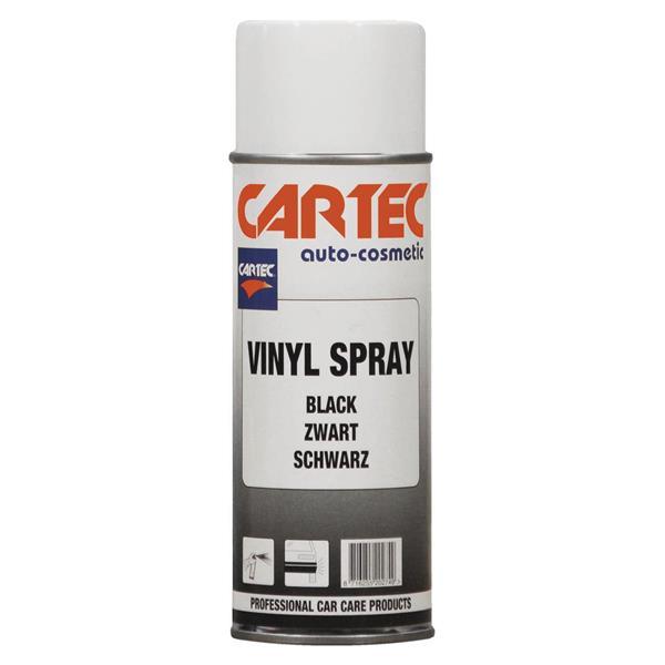 Vinylpaint Spray Black 400 ml