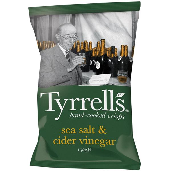 Tyrrells Sea Salt & Cider Vinegar 150g