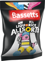 BASSETTS LIQOURICE ALL 190g