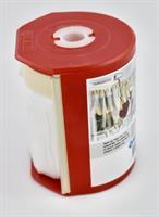 Snabbmaskeringsplast 550mm x 33m med dispenser