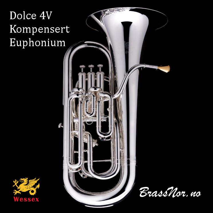 Wessex Euphonium Dolce sølv