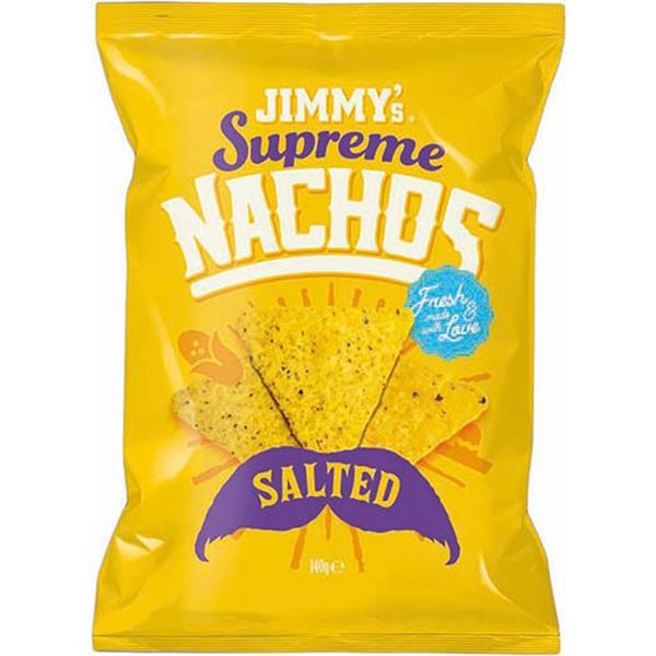 Jimmy's Supreme Nachos Salted 140g