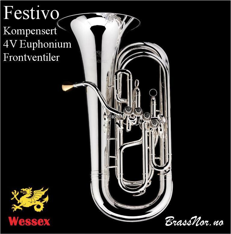 Wessex 'Festivo' Front-Valve kompensertEuphonium