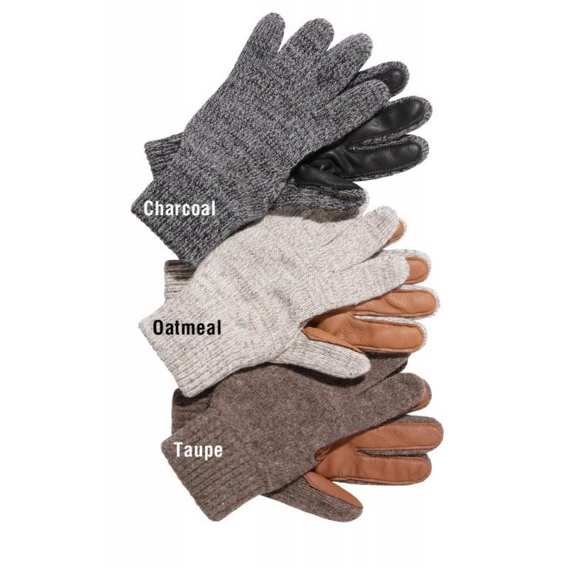 Ranch Hand Ragg Wool Glove w/deerskin