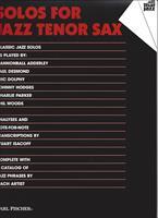 SOLOS FOR JAZZ TENOR SAX