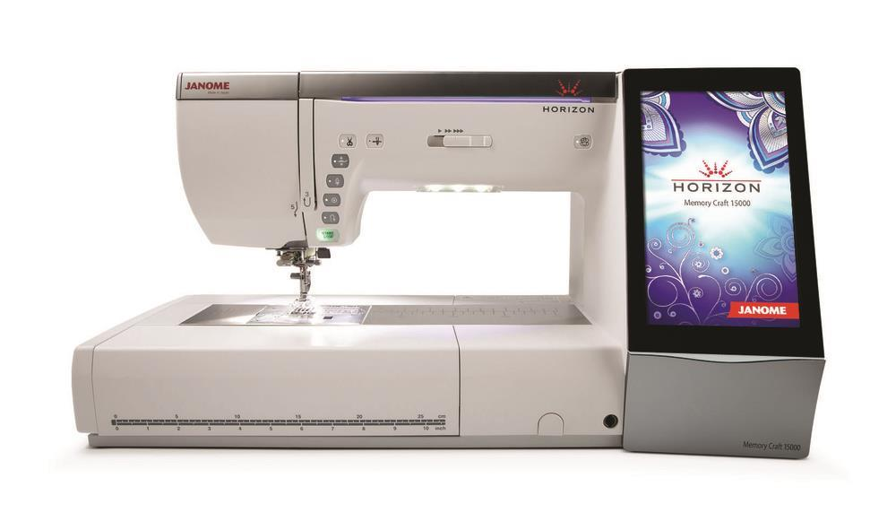 Janome: Memory Craft Horizon 15000