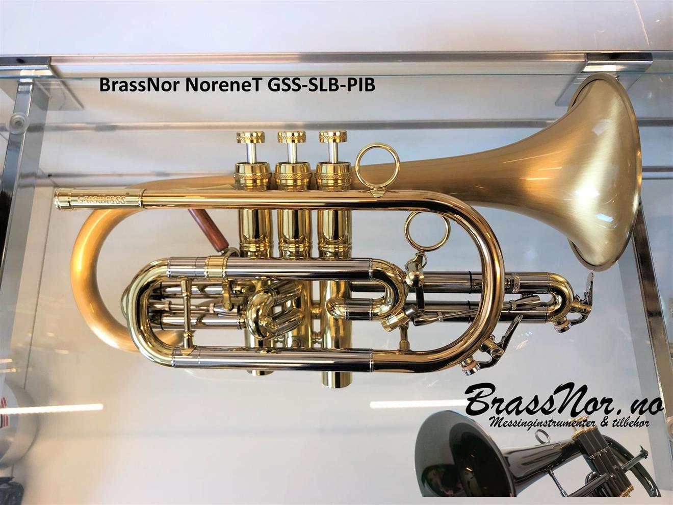 BrassNor NoreneT GSS Bb kornett SLB-PIB