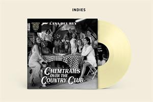 DEL REY LANA: CHEMTRAILS OVER THE COUNTRY CLUB-INDIE ONLY YELLOW LP