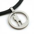 Halsband, Vandrare, Kirurgiskt stål, Unisex