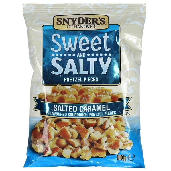 Snyder's Sweet and Salty Salted Caramel 100g