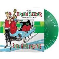 SETZER BRIAN ORCHESTRA: BOOGIE WOOGIE CHRISTMAS-GREEN LP