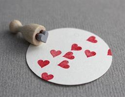 Stempel Mini Hjerte