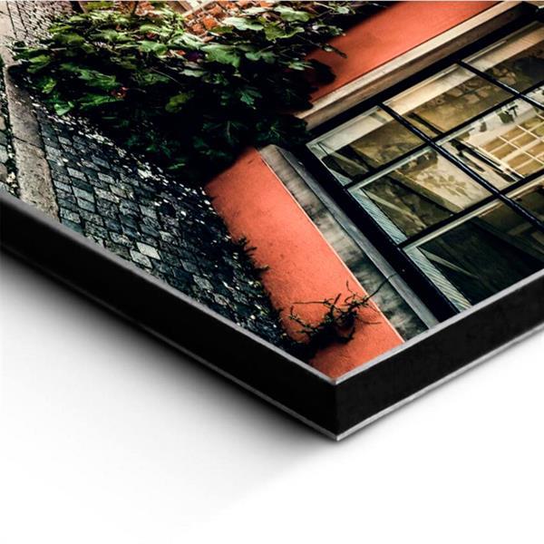 Aluminiumsplate med bildetrykk 80x80cm