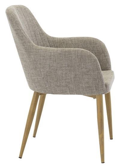 Comfort karmstol gråbeige