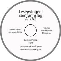 Leseøvinger i samfunnsfag A1/A2 - CD