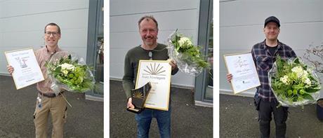Företagarpriser utdelade - Ted Zaar, Zaarstone AB, blev Årets Företagare i Olofström 2020