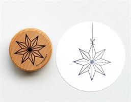 Stempel Large Papirstjerne