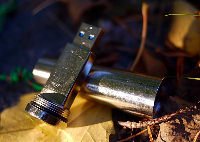 USB-minne för vildmarksbruk