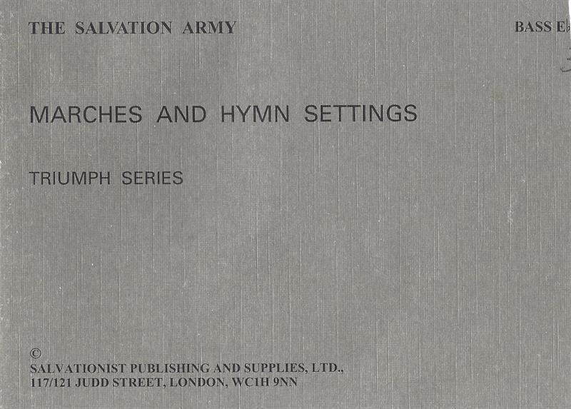 S.A. HYMN SETTINGS & MARCHES - GREY BOOK PARTS