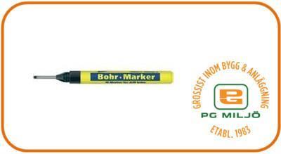 Penna för borrhål