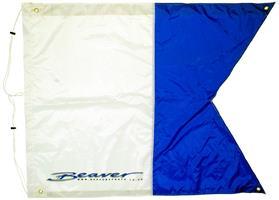 Dykkeflagg 100 x 125cm.