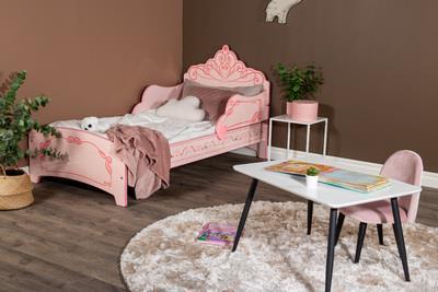 Princess Crown säng rosa