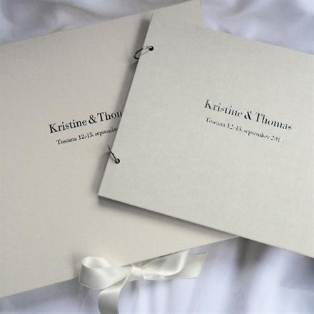 Album/Gjestebok og boks - klikk for mer informasjon