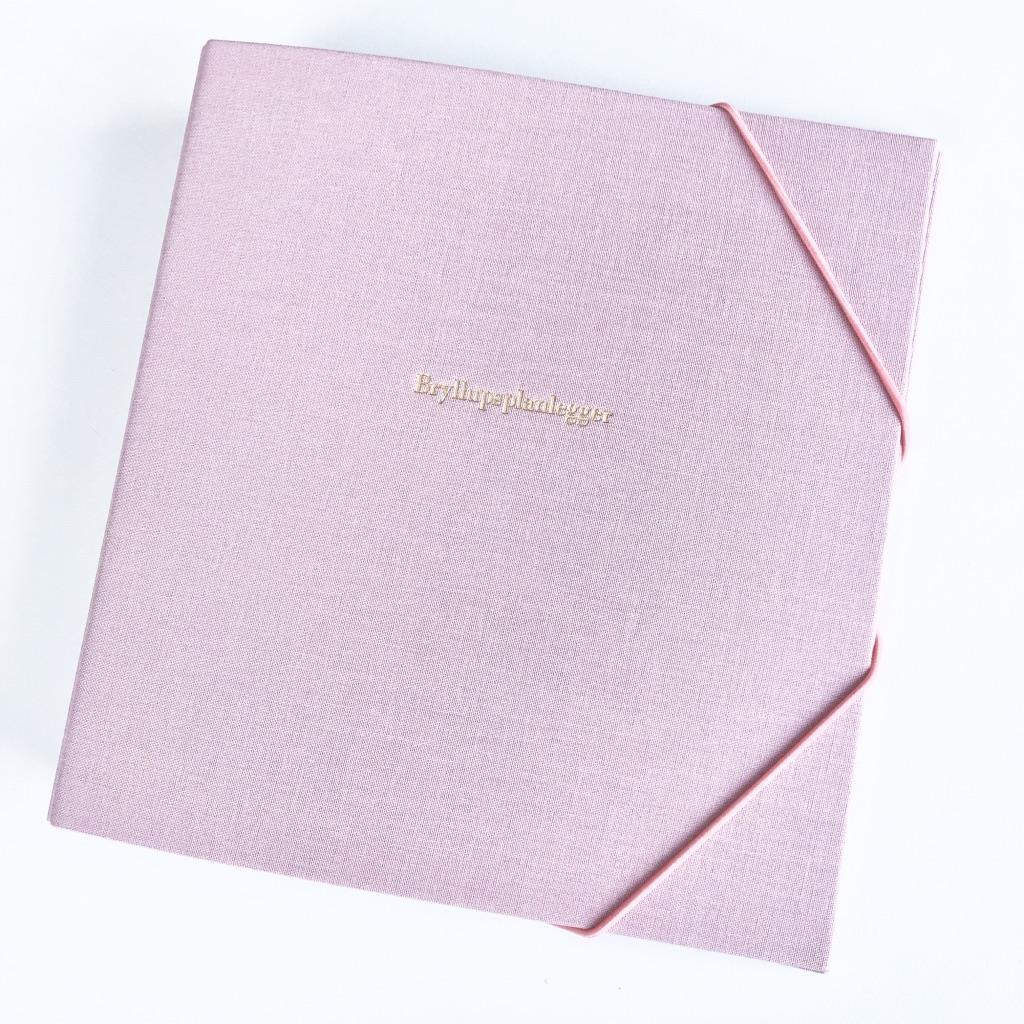 Bryllupsplanlegger perm Dusty Pink