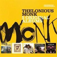 MONK THELONIUS: 5 ORIGINAL ALBUMS 5CD