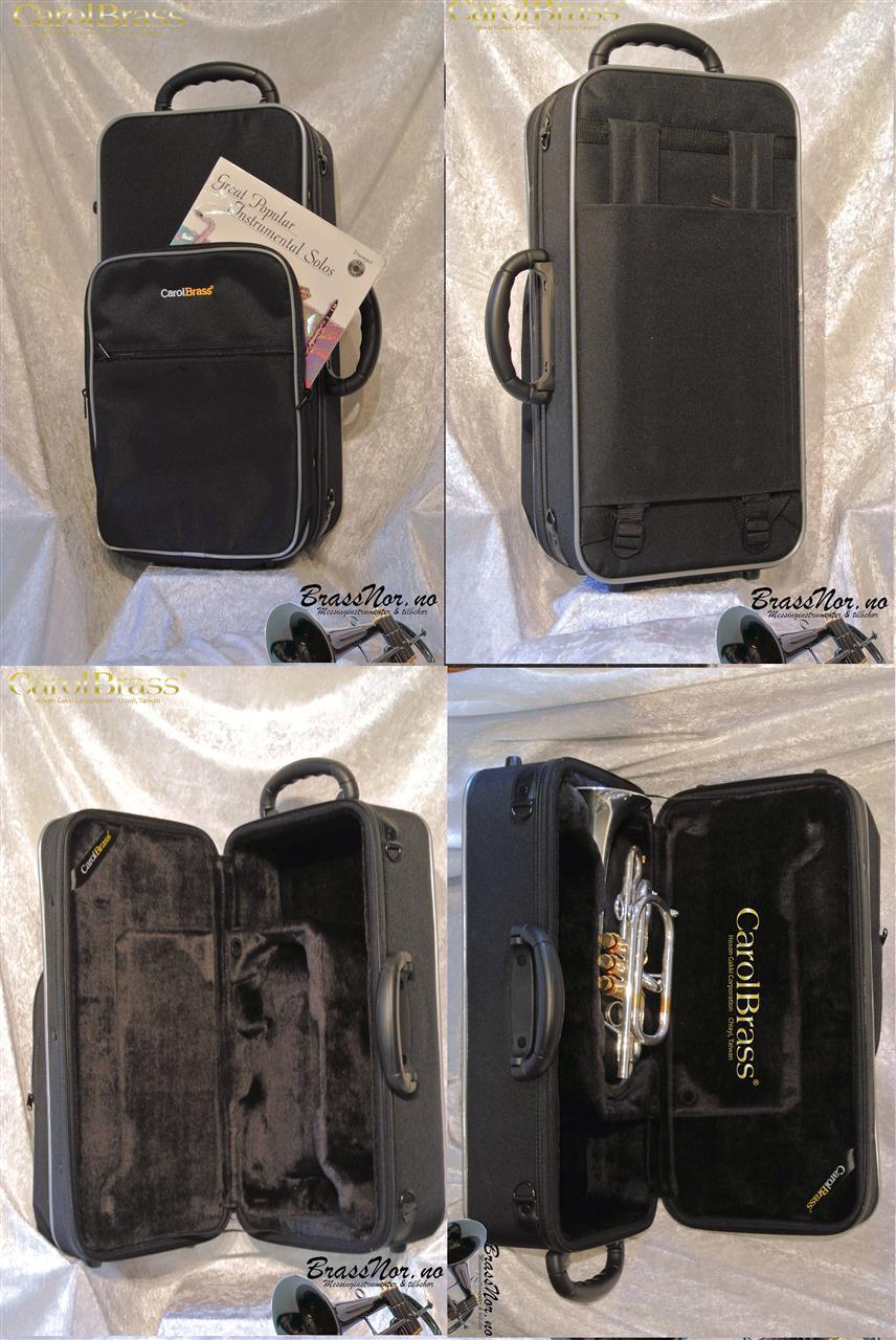 BrassNor/CarolBrass de luxe kornettbag