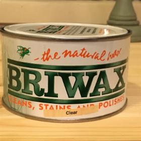 Briwax mehiläisvaha, kirkas