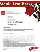 AWAY IN A MANGER - CORNET SOLO