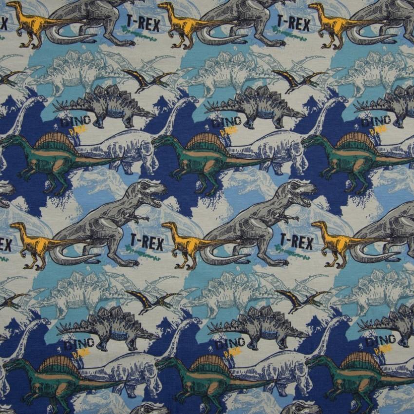 Dinos life blue jersey