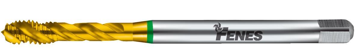 Fenes Gängtapp spiral 1200 TIN M6 DIN 371